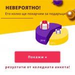 Pazaruvaj.com: 350 лева е планираната сума за подаръци през тази година